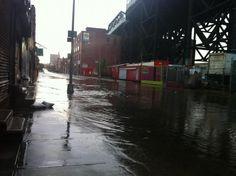 CNN food reporter Kat Kinsman took pictures of the Gowanus flooding in Brooklyn: