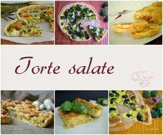 Collage torte salate