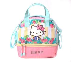 3e72f20af4 Hello Kitty Lunch Bag  Tropical Pink Hello Kitty Purse