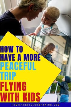 Stressed at thought of flying with babies or young children? Use these time tested tips and strategies to help make flying with kids more manageable. Travel Tips With Baby, Air Travel Tips, Traveling With Baby, Travel With Kids, Family Travel, Flying With A Baby, Airplane Travel, Travel Toys, Time Tested