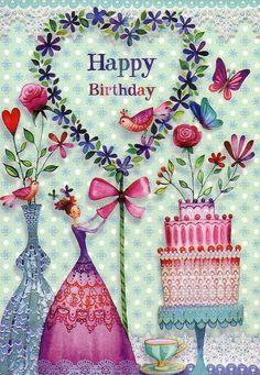 Happy Birthday Happy Birthday Wishes Happy Birthday Quotes Happy Birthday Messages From Birthday Birthday Wishes Greeting Cards, Happy Birthday Messages, Happy Birthday Greetings, Happy Birthday Pictures, Birthday Love, Birthday Photos, Romantic Birthday, Vintage Birthday, Card Birthday