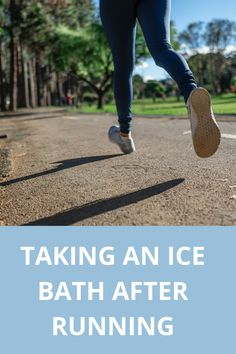 Ice Bath After Running - Ice Bath Recovery, Recovery Food, Recovery Quotes, Ice Bath Benefits, Ice Baths, After Running, Running Quotes, Sore Muscles, Bath Tub
