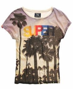 Superdry Palm Beach T-shirt
