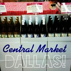 DALLAS! You can now find our wines at @central_market on Preston Rd!  Look for the #CentralMarket team favorite sign and Pick up a bottle of our Violet Crown, Old Vine Zin and Chardonnay today!  #dallas #dallaswine #theaustinwinery
