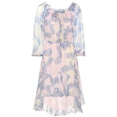 Diane von Furstenberg Camila Printed Silk Dress ($660) ❤ liked on Polyvore featuring dresses, multicoloured, pink silk dress, multicolored dress, diane von furstenberg, diane von furstenberg dresses and multi-color dress