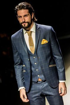 Suits Men Style Mens Fashion Men Fashion MenS Fashion Fashion Looks Atel Dandy Look, Mode Costume, Style Masculin, Look Man, Stylish Mens Outfits, Casual Outfits, Suit Shirts, Three Piece Suit, Inspiration Mode