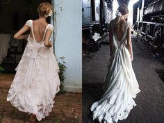 Open back wedding dresses IV