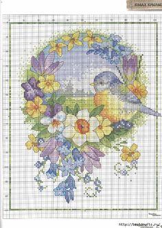 Вышиваю крестиком. Журнал со схемами (45) (497x700, 372Kb)