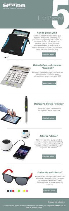Descubre nuestra selección de 5 regalos de empresa para destacar tu marca http://goo.gl/HKZAr3