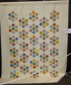 SEVEN SISTER QUILT..............PC...............FABRIC THERAPY: 2014 AQS Grand Rapids Quilt Show...Part Five...