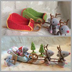 Christmas fun Santa's sleigh