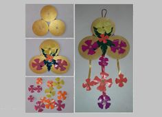 Suhas suhasnayak56 on pinterest do it yourself craft wall hanging craft made out of scrap cd my blog http solutioingenieria Choice Image
