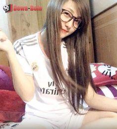 fans cewek suporter real madrid | gadis bola | soccer girl | bola net | dewabola.club