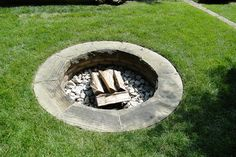in-ground fire pit