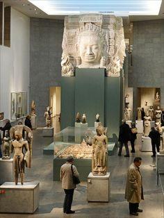 """L'exposition  """"Angkor : la naissance d'un mythe"""" (musée Guimet)"""