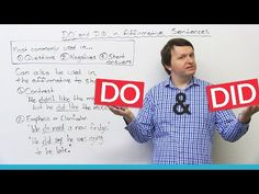 Grammar: Using DO and DID to make a strong point in English · engVid
