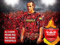 The one and Only Ali Karimi Best Football Players, Football Team, Soccer Pro, Volleyball, Basketball, Iran Football, Professional Soccer, Water Polo, Bavaria