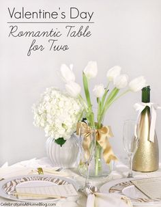 Valentines Day | Table for 2 — Celebrations at Home