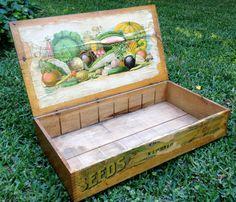 Beautiful Vintage Seed Box