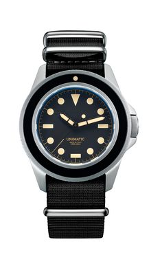 Unimatic - U1-B-HERO. For more informations check out http://www.unimaticwatches.com