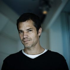 Timothy Olyphant. A talented actor. He also has a great smile that makes you smile, too.