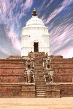 Temple at Durbar Square. #TravelNepal