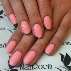 pink oval nails unghie gel, gel unghie, ricostruzione unghie, gel per unghie, ricostruzione unghie gel http://amzn.to/28IzogL