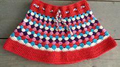 Knitting For Kids, Crochet For Kids, Diy Crochet, Crochet Baby, Crochet Ideas, Crochet Skirts, Crochet Diagram, Baby Dress, Boho Shorts