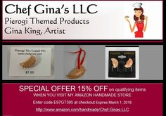 Repin, then message me for a 20% off code to www.chefginas.com