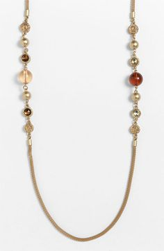 MARC BY MARC JACOBS Paste & Prints Long Station Necklace available at #Nordstrom