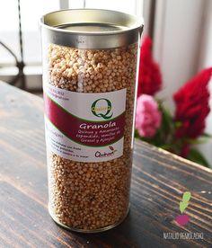 Granola casera Natalio Remolacho Granola, Cereal, Breakfast, Food, Gastronomia, Sweets, Deserts, Recipes, Homemade