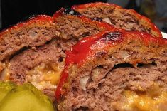 Cheeseburger Meatloaf Recipe | Allrecipes Beef Meatloaf Recipes, Good Meatloaf Recipe, Best Meatloaf, Beef Recipes, Cheeseburger Meatloaf, Beef Dishes, Southern Recipes, Recipe Using, Kitchens