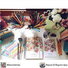 Planejar nunca foi tão motivador... Foto linda da nossa cliente @laismdantas Compre online e receba em casa. #meudailyplanner #planneraddict #loveplanner #dailyplanner #planner2016