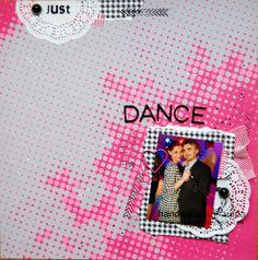 just dance #scrapbooking