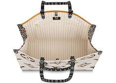 Louis Vuitton Onthego Monogram Giant Jungle Ivory/Havana Beige Lv Tote, Havana, Buy And Sell, Ivory, Monogram, Louis Vuitton, Beige, Handbags, Stuff To Buy