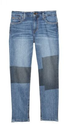 Joe's Jeans Women's Ex-Lover Boyfriend Straight Ankle Patchwork Jean is just one of many pieces offered on Amazon.