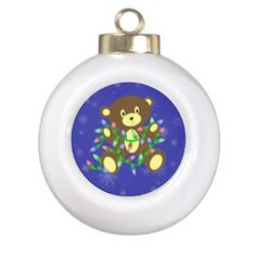 Bear With Lights from Zazzle.com