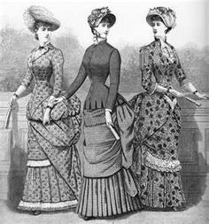 Fashions & Costumes from Harper's Bazaar ...1883
