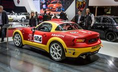 Fiat Abarth 124 Spider rally concept