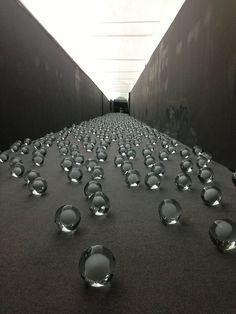 "NOT VITAL ""700 SNOWBALLS"" Curated by Alma Zevi.  San Giorgio Maggiore, during 55th Biennale, VENICE (c)Benjamin Eymere"