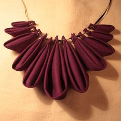 Origami Petal Necklace
