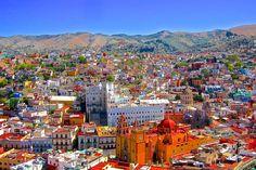 メキシコで一番美しいカラフルな街『グアナファト』
