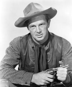 Sterling Walter Hayden ne Sterling Relyea Walter, adopted at age 9 and renamed Sterling Walter Hayden, Montclair NY, Prostate cancer. He was tall which posed a problem for film's much shorter actors/actresses. John Russell Actor, Actor John, Hollywood Actor, Classic Hollywood, Old Hollywood, Hollywood Stars, Cowgirls, New Jersey, John Kerr