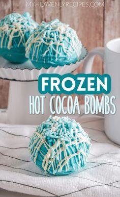 Hot Chocolate Gifts, Christmas Hot Chocolate, Chocolate Spoons, Hot Chocolate Bars, Hot Chocolate Mix, Hot Chocolate Recipes, Chocolate Treats, Chocolate Coffee, Frozen Chocolate