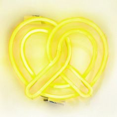 NEON 'PRETZEL' SIGN                                                                                                                    ๑෴MustBaSign෴๑