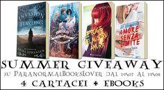ParanormalBooksLover: Summer GiveAway 2016   Dal 19\07 al 19\08