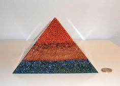 Orgone  orgonite Pyramid Great Energy by OrgoniteCreations on Etsy