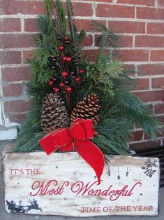 New Post-rustic outdoor christmas decor-Trendingcheminee.website