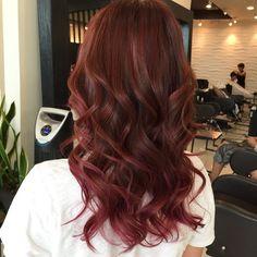 한나고객님 컬러^^ #Hairbychristine #haircolor #balayage #ombre #sombre #haircolor_change #etudelounge #etude_lounge #koreatown #losangeles