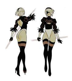 """트위터의 Sara Kipin 님: """"i'm always thinking about 💦 """" Character Model Sheet, Female Character Design, Character Modeling, Game Character, Fantasy Characters, Female Characters, Sara Kipin, Guerra Anime, Drakengard Nier"""